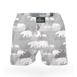 Pánské trenky ELKA lední medvěd (P0003)