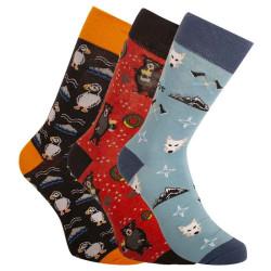 3PACK ponožky crazy Bellinda vícebarevné (BE491004-308)