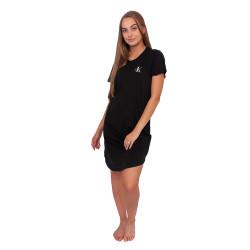 Dámská noční košile CK ONE černá (QS6358E-001)