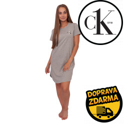 Dámská noční košile CK ONE šedá (QS6358E-020)