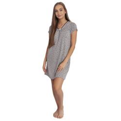 Dámská noční košile Cocoon Secret šedá (COC3083-KG)