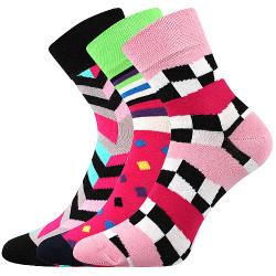 3PACK ponožky BOMA vícebarevné (Ivana 56)