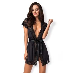 Dámský župánek Obsessive 810-PEI-1