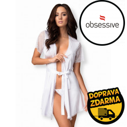 Dámský župánek Obsessive Miamor robe a thong