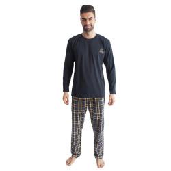 Pánské pyžamo Gino tmavě modré (79091)