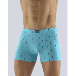Pánské boxerky Gino světle modré (73091)