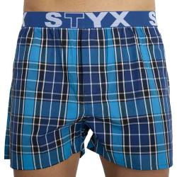 Pánské trenky Styx sportovní guma vícebarevné (B824)