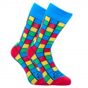 Veselé ponožky Styx vysoké art kocky (H959)