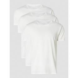 3PACK pánské tričko Calvin Klein bílé (NB4011E-100)