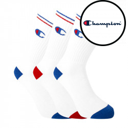 3PACK ponožky Champion bílé (Y0829)