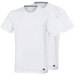 2PACK pánské tričko Champion bílé (Y09G5)
