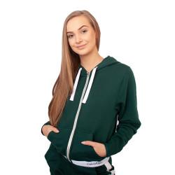 Dámská mikina Calvin Klein zelená (QS5667E-CP2)