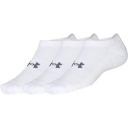 3PACK ponožky Under Armour bílé (1347094 100)