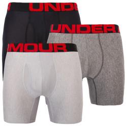 3PACK pánské boxerky Under Armour vícebarevné (1363620 001)
