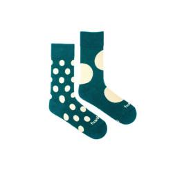 Veselé ponožky Fusakle diskoš zelenáč (--1094)