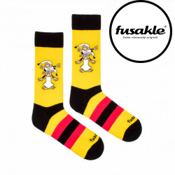 Veselé ponožky Fusakle Křemílek a Vochomůrka (--0857)