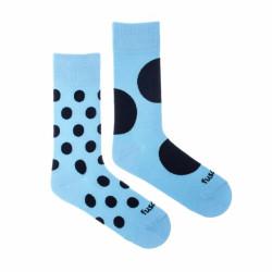 Veselé ponožky Fusakle diskoš azúro (--1082)