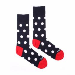 Veselé ponožky Fusakle puntíkáč fešák (--0690)