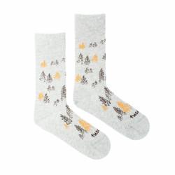 Veselé ponožky Fusakle les v mlze (--1041)