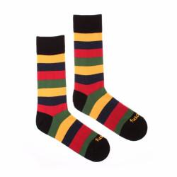 Veselé ponožky Fusakle multikulturalista druhý (--0810)