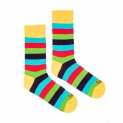 Veselé ponožky Fusakle multikulturalista (--0006)