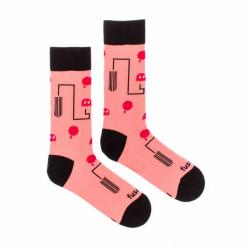 Veselé ponožky Fusakle seman měsíček (--0909)