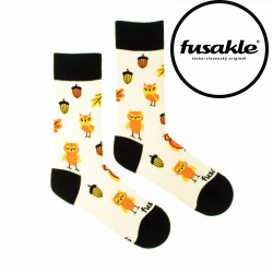 Veselé ponožky Fusakle sova (--1047)
