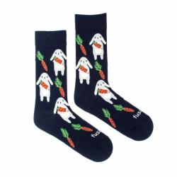 Veselé ponožky Fusakle zajíc (--1050)