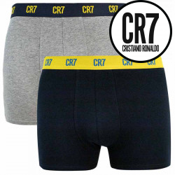2PACK pánské boxerky CR7 vícebarevné (8302-49-2725)