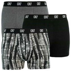 3PACK pánské boxerky CR7 vícebarevné (8110-49-2712)