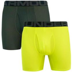 2PACK pánské boxerky Under Armour zelené (1363619 394)