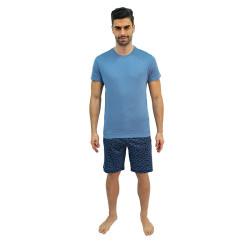 Pánské pyžamo Jockey modré (500001 454)