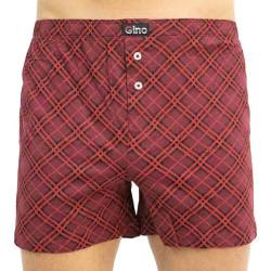 Pánské trenky Gino červené (75151)