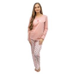 Dámské pyžamo Gina růžové (19111)
