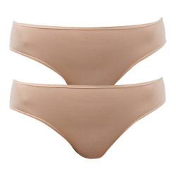 2PACK dámské kalhotky Bellinda béžové (BU822810-359)