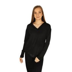 Dámské tričko na spaní Calvin Klein černé (QS6528E-UB1)