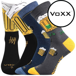 3PACK ponožky VoXX vícebarevné (PiVoXX mix 5)