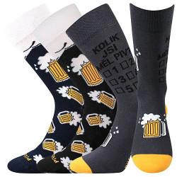 3PACK ponožky VoXX vícebarvné (PiVoXX mix 6)