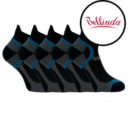 5PACK ponožky Bellinda černé (BE497565-940)