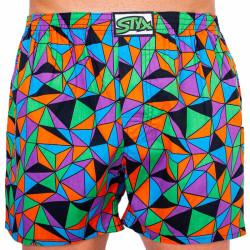 Bez obalu - Pánské trenky Styx art klasická guma trojúhelníky (A1056)