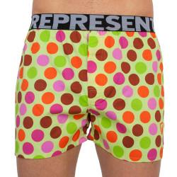 Bez obalu - Pánské trenky Represent exclusive Mike color dots