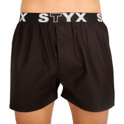 Pánské trenky Styx sportovní guma černé (B960)