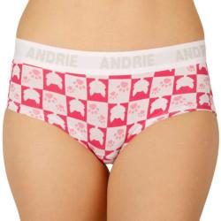 Dámské kalhotky Andrie růžové (PS 2406 C)
