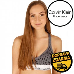 Dámská podprsenka Calvin Klein šedá (QF1654E-JN7)