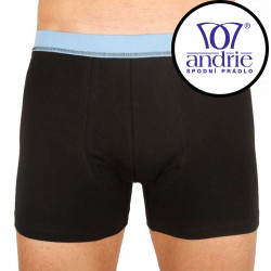Pánské boxerky Andrie černé (PS 5116 D)