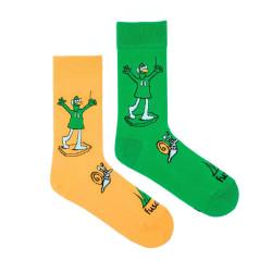 Veselé ponožky Fusakle Jú a Hele (--0990)