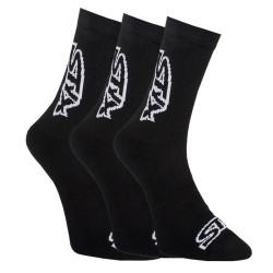 3PACK ponožky Styx vysoké černé (HV9606060)