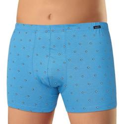 Pánské boxerky Andrie světle modré (PS 5549 C)