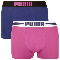 2PACK pánské boxerky Puma vícebarevné (651003001 022)