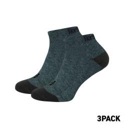 3PACK ponožky Horsefeathers rapid premium tmavě šedé (AA1078C)